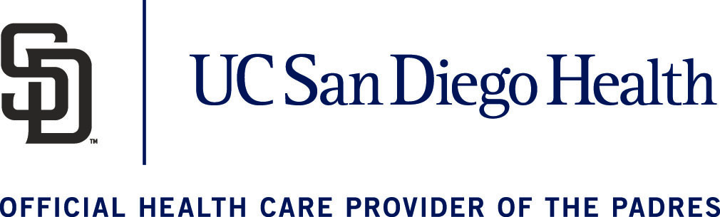 Official health care provider of the Padres.