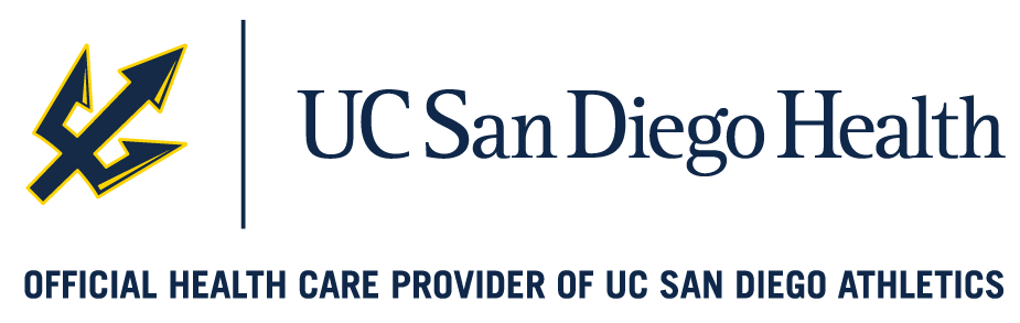 Official health care provider of UC San Diego Athletics.